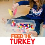 Feed the Turkey Thanksgiving Activity