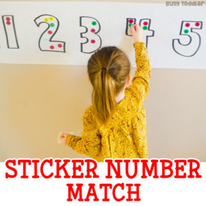 Easy Sticker Number Match