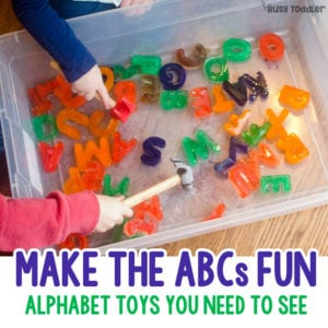Make Learning the ABCs Fun
