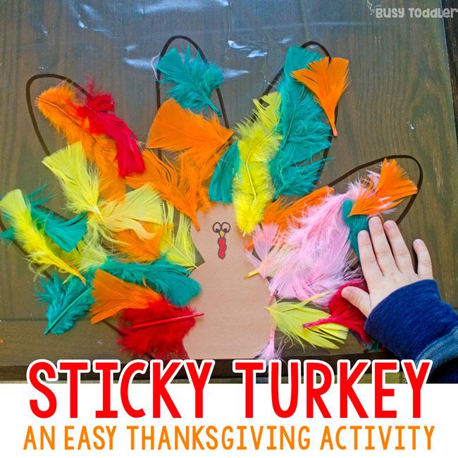 Easy Turkey Art Projects For Kids