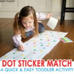 Dot Sticker Matching Activity