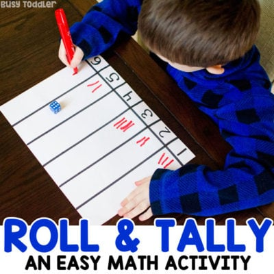 Dice Math Activity: Roll & Tally
