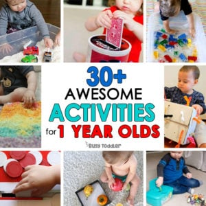 30+ Easy Activities for 1 Year Olds