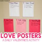 Love Posters: Easy Valentine's Activity