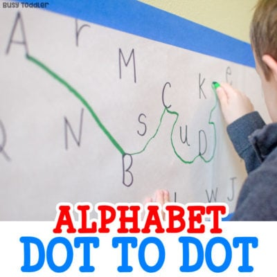 Make an Easy Alphabet Dot-to-Dot