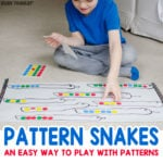 Pattern Snakes: An Easy Patterning Activity