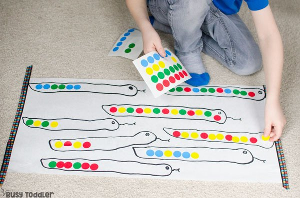 Make Pattern Snakes: Preschool Patterns Activity - Busy ...
