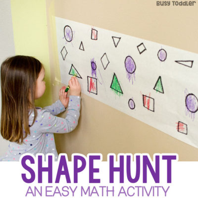 Find the Shapes Math Activity