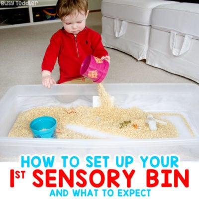 How to Make Your First Sensory Bin