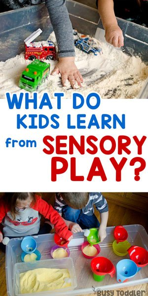 WHY IS SENSORY PLAY IMPORTANT? What do kids learn from sensory activities? Check out these skills kids learn through sensory activities.
