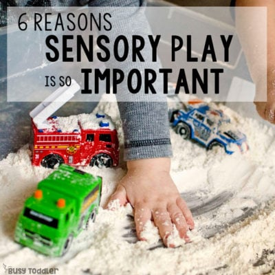 Why is Sensory Play Important?