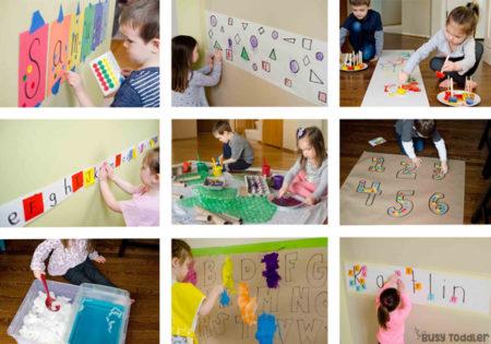 HOMESCHOOL PRESCHOOL PROGRAM: Welcome to Playing Preschool - the easy way to preschool at home; home preschool program; preschool lesson plans; preschool currirulum by Busy Toddler