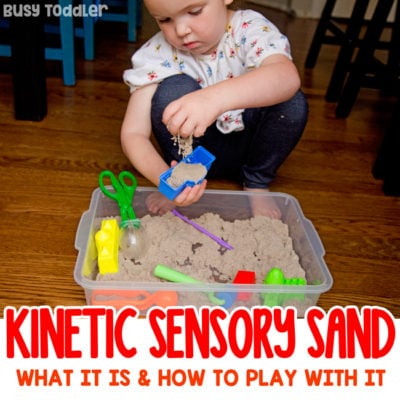 What is Kinetic Sensory Sand?