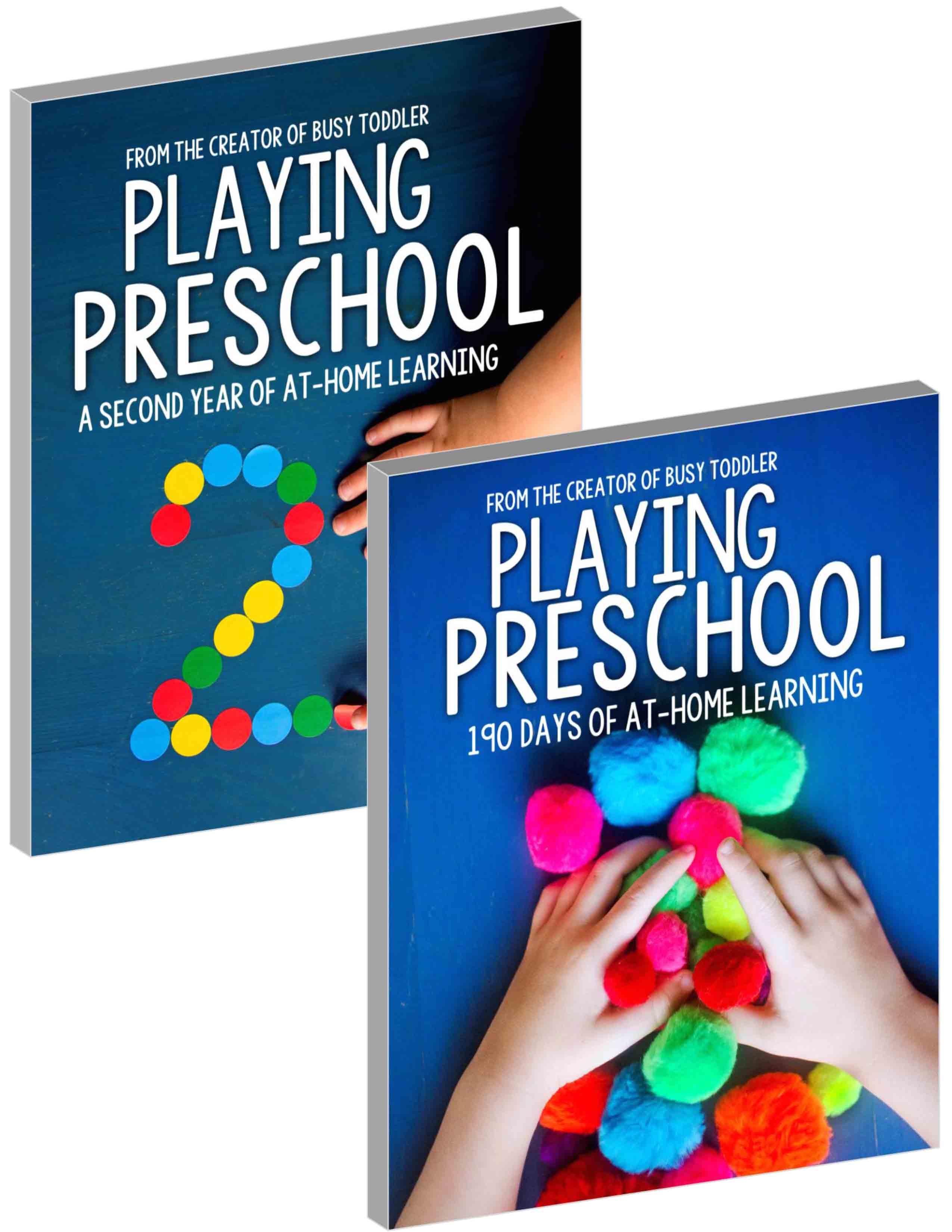 Playing Preschool Years 1 2