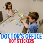 How do you entertain kids at the doctor's office?