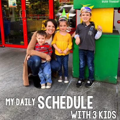 My Daily Routine with Toddlers
