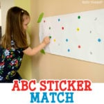 ABC Sticker Match Activity