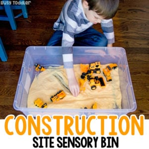 Make a Simple Cornmeal Construction Site