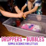 Bubble Droppers Science Experiment