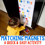 Fridge Magnet Matching Activity