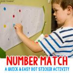 Number Dot Match