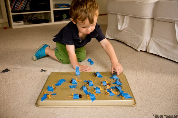 OPEN-ENDED TOYS INTO ACTIVITIES: Take 3 toys and see how to turn them into 15 activities. Toys for activities, open ended toys, easy indoor activities; Lakeshore Learning toys; (sponsored) Busy Toddler