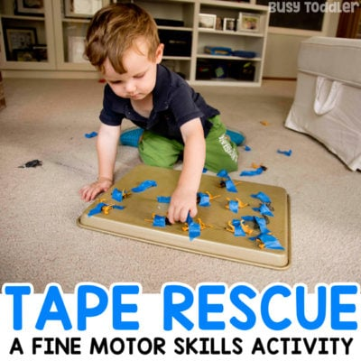 Animal Tape Rescue Activity