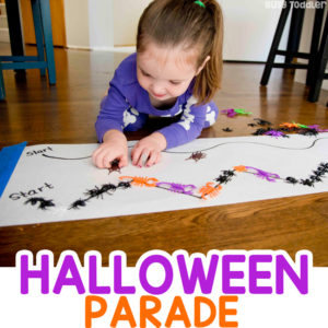 Halloween Parade Line-Up Activity