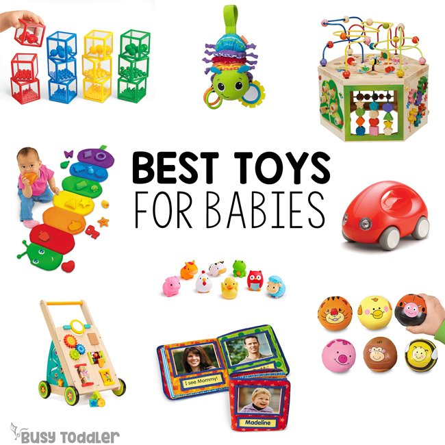 BEST TOYS FOR BABIES: Looking for baby gifts - check out these awesome ideas from Busy Toddler; baby toys; baby's first christmas; first birthday gifts