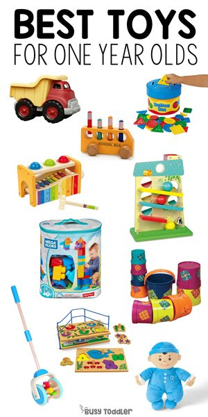 fb7cdc895bac Best Toys for 1 Year Olds - Busy Toddler