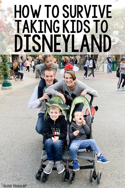 How to Travel to Disneyland with Toddlers - Busy Toddler