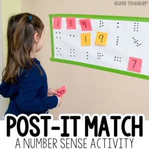 Post-It Number Match