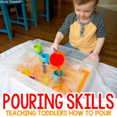 Pouring Skills: Make an Indoor Pouring Station