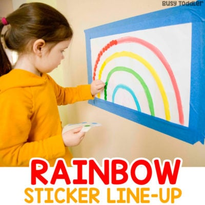Rainbow Dot Sticker Line-Up