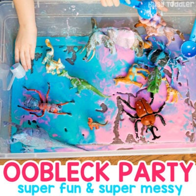 Oobleck Party: A Messy Fun Activity