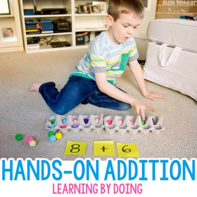 Hands-on Addition Activity