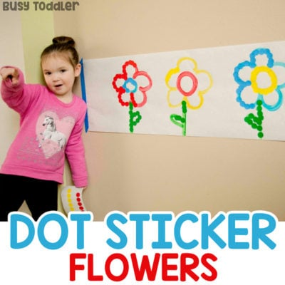 Dot Sticker Flowers Sort & Match