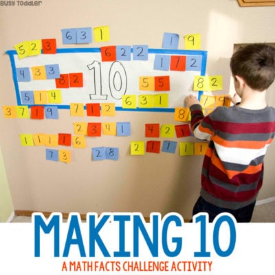 Making 10 Addition Activity