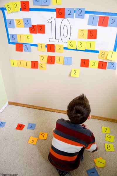 MAKING 10: A quick and easy addition activity