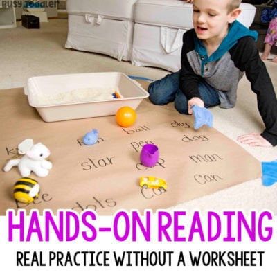 Matching Objects to Words: Reading Activity