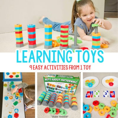 Learning Toys: Toys that Play and Teach