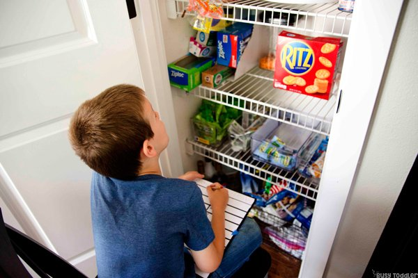 Write The Pantry Activity For Kindergarteners Busy Toddler
