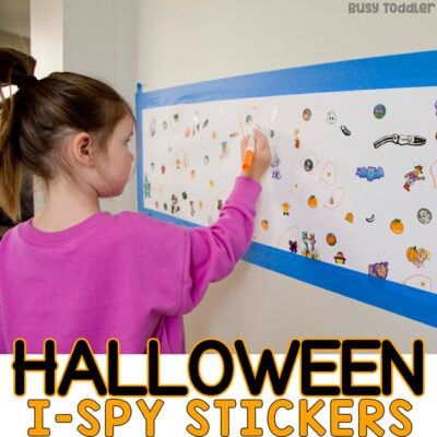 Halloween I-Spy Activity