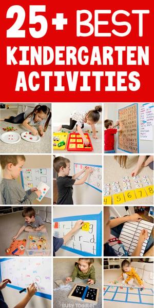 25 Kindergarten Activities Hands On Playful Busy Toddler - 39+ Worksheets For Kids Kindergarten Pics