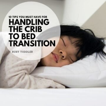 Are you terrified of the crib to bed transition? (You don't have to be!)