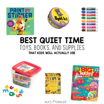 15 Awesome Quiet Time Activities and Supplies