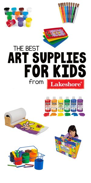 BEST ART SUPPLIES FROM LAKESHORE LEARNING: Check out these amazing supplies from Lakeshore for making art easy, fun, and manageable.