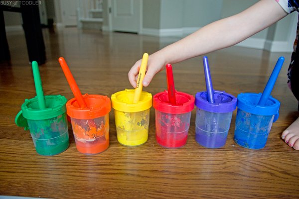 No Spill Paint Cups