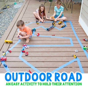 Outdoor Road Easy Activity
