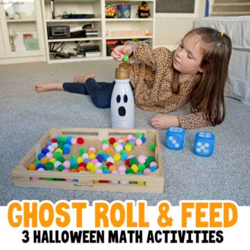 Halloween Ghost Roll & Feed